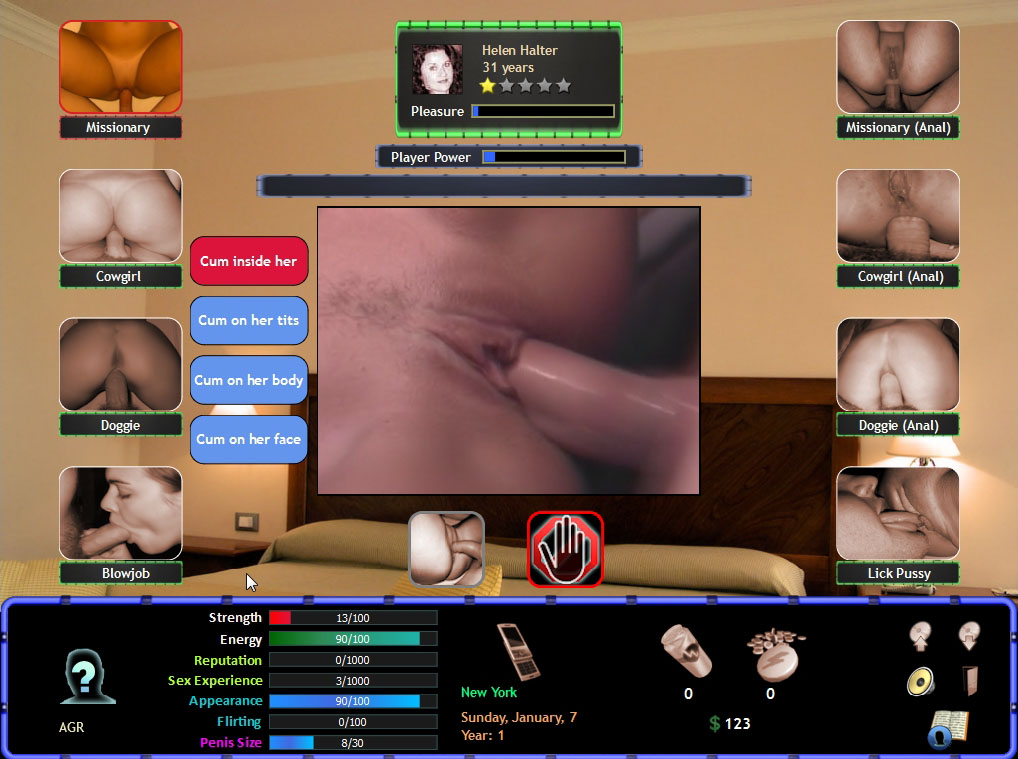 Sexy chat porn game